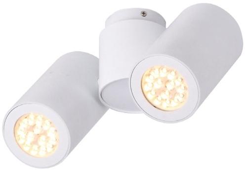 Barro II white ceiling lamp
