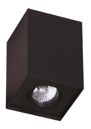 Basic Square Black surface mounted