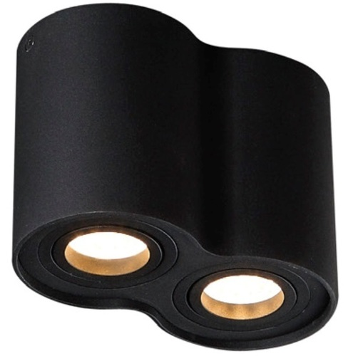 BASIC ROUND II BK halogen luminaire