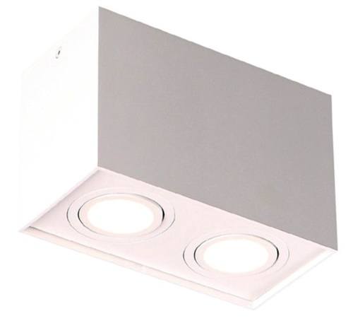 BASIC SQUARE II WH downlight