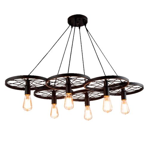Hanging lamp Azzardo RANCH 6