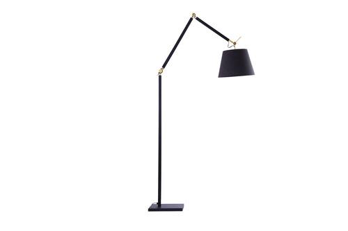 Floor Lamp Azzardo ZYTA LAMPBODY BK / GO