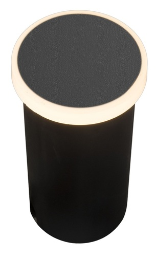 Garden Lamp Azzardo ALF ROUND 3000K BK