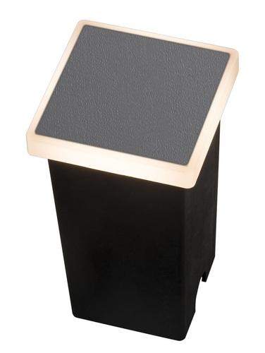 Garden Lamp Azzardo ALF SQUARE 3000K DGR