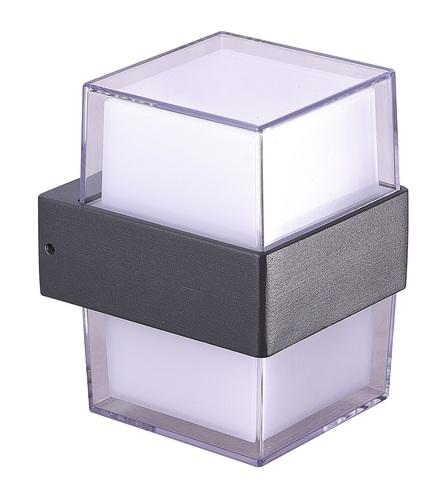 Wall lamp Azzardo LARS SQUARE 4000K DGR