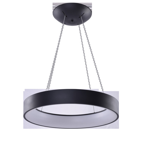 Hanging lamp Azzardo SOLVENT R 45 BK + REMOTE CONTROL