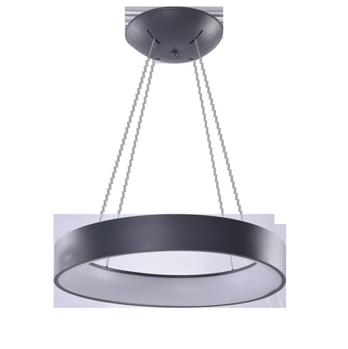 Hanging lamp Azzardo SOLVENT R 45 GR + REMOTE CONTROL