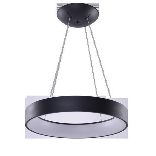Hanging lamp Azzardo SOLVENT R 110 BK + REMOTE CONTROL