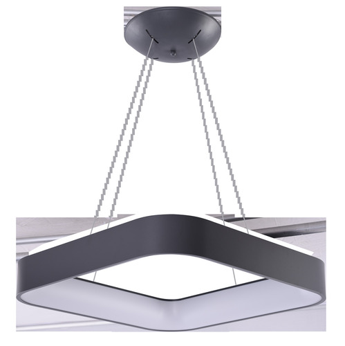 Hanging lamp Azzardo SOLVENT S 60 GR + REMOTE CONTROL