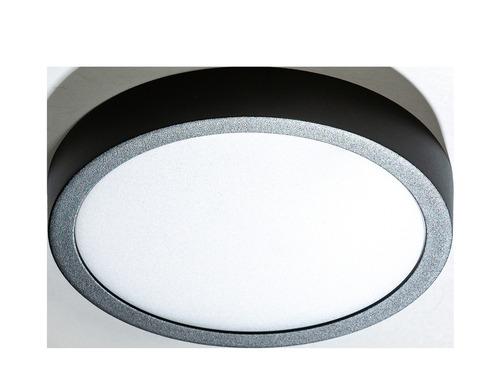 Azzardo MALTA R 23 4000K BK ceiling lamp