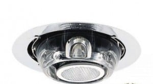Recessed luminaire Fabbian BELUGA D57F0300 Crystal small 2