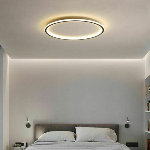 Round LED ceiling lamp Abigali 500 * 45mm 36W - three colors, dimmable - Remote control
