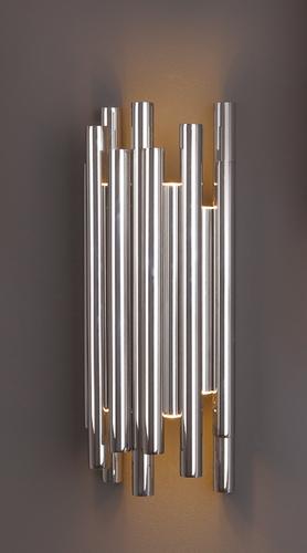 ORGANIC CHROM wall lamp