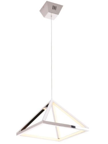 Peak S Chrome pendant lamp