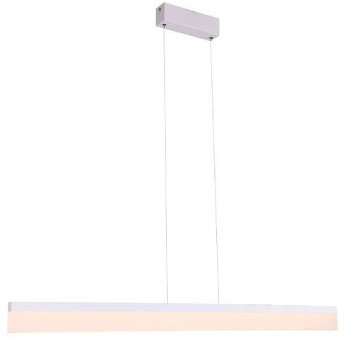 Pendant lamp LED white rectangle RAPID Large