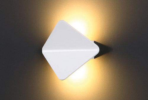 Tigra II white wall lamp