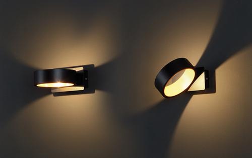 Tokyo I wall lamp black