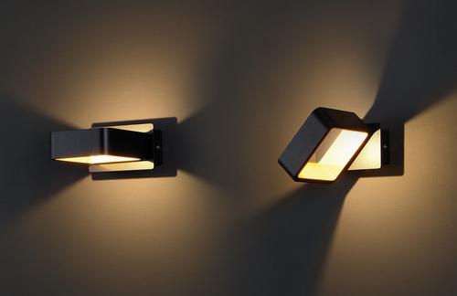 Tokyo II wall lamp black