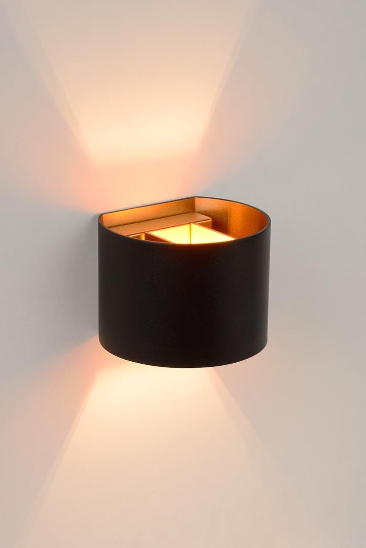 Wall lamp with adjustable light beam angle XIO 09218/04/30