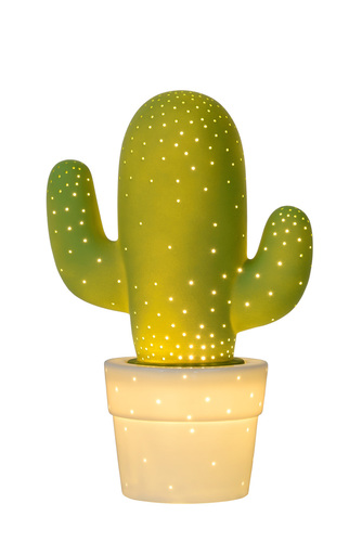 Decorative table lamp CACTUS Green