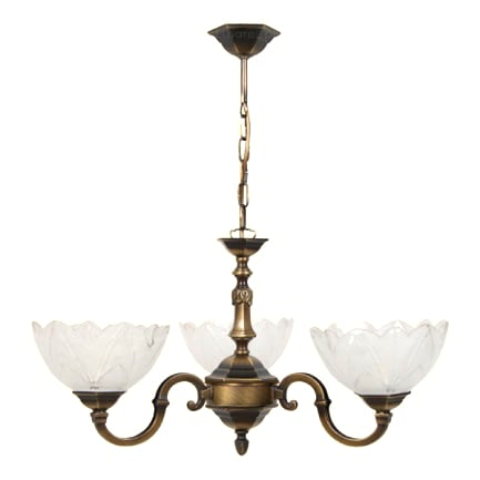 Patin Chandelier for living room Icarus three-armed