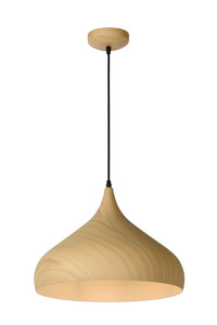 WOODY pendant lamp, clear wood small 0