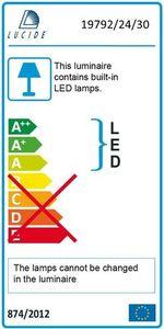 Floor lamp CHAMPION-LED black small 2