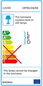 Floor lamp CHAMPION-LED black small 3
