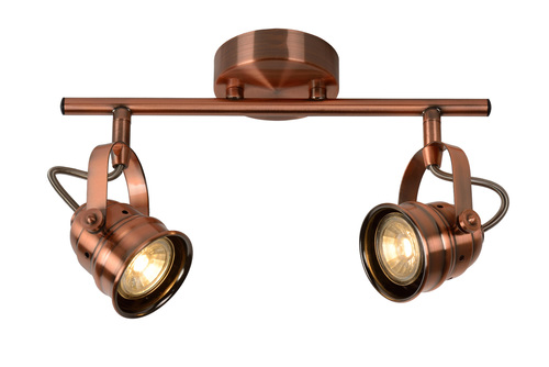 Ceiling fixture SIGAL copper GU10