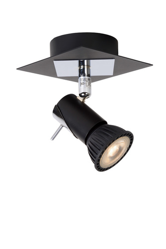 Wall light BLACKX black LED