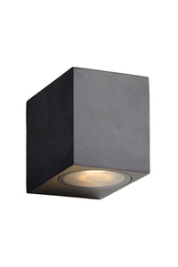 Lucide ZORA-LED 22860/05/30 outdoor cube wall lamp small 0