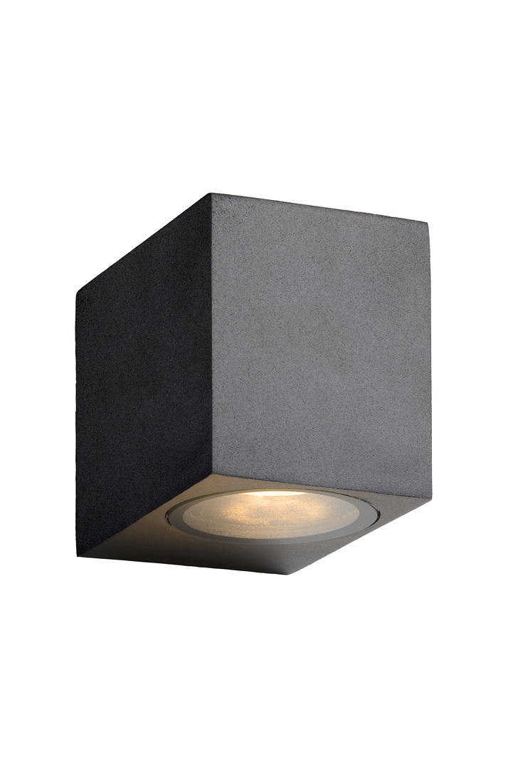 Lucide ZORA-LED 22860/05/30 outdoor cube wall lamp