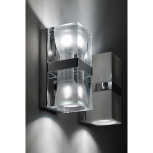 Wall lamp Fabbian Cubetto D28D0100GU10 2x50W small 0