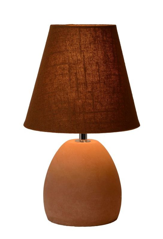 Table lamp SOL brown E14