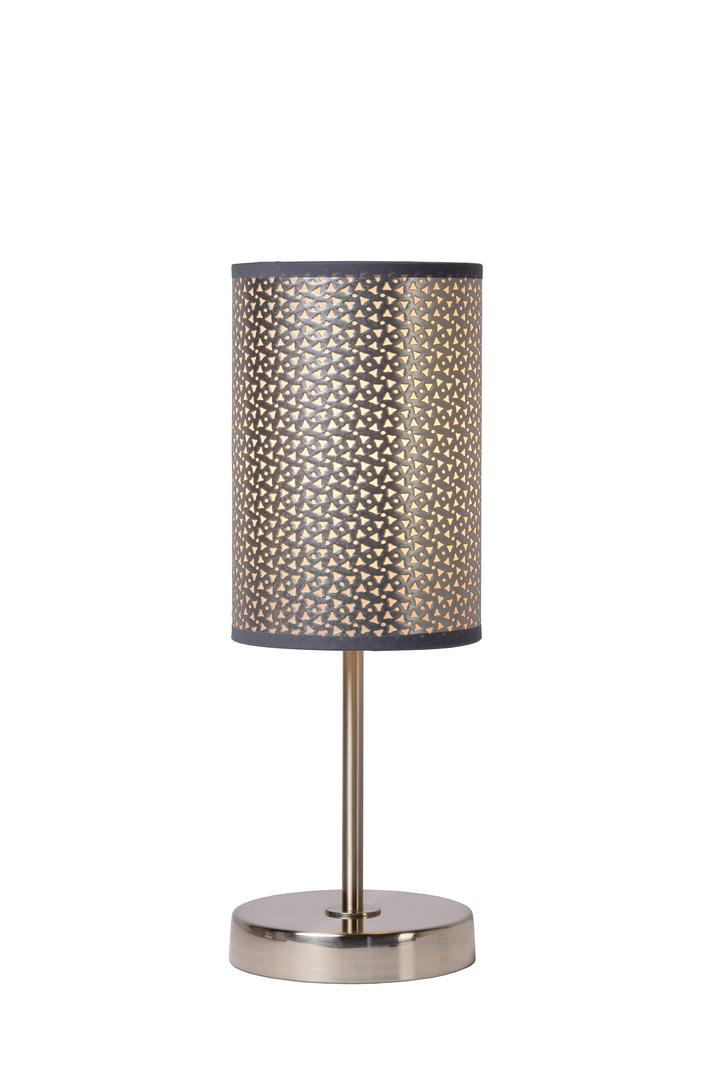 MODNA silver table lamp E27