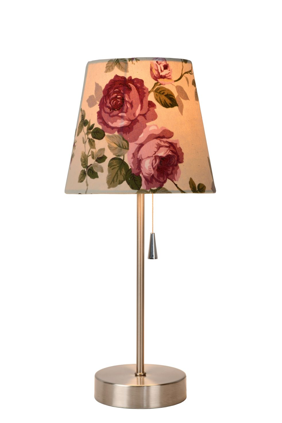 SOHO table lamp beige flowers E27