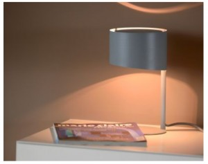 KNULLE table lamp Ø 15,5 cm Gray small 0