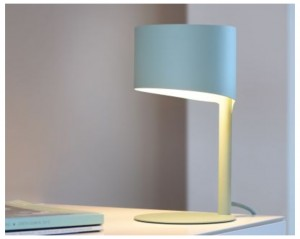 KNULLE table lamp Ø 15,5 cm Blue small 0