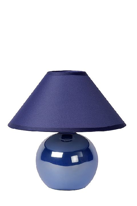 Table lamp FADO blue E14