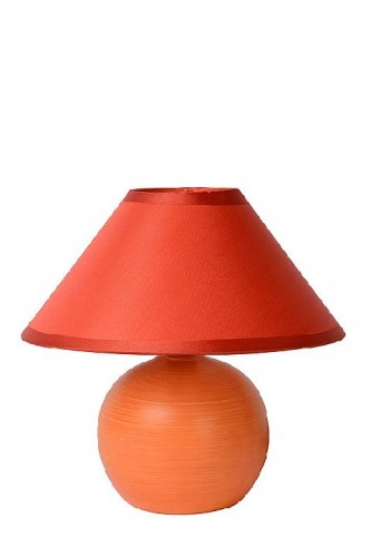 Table lamp FADO orange E14