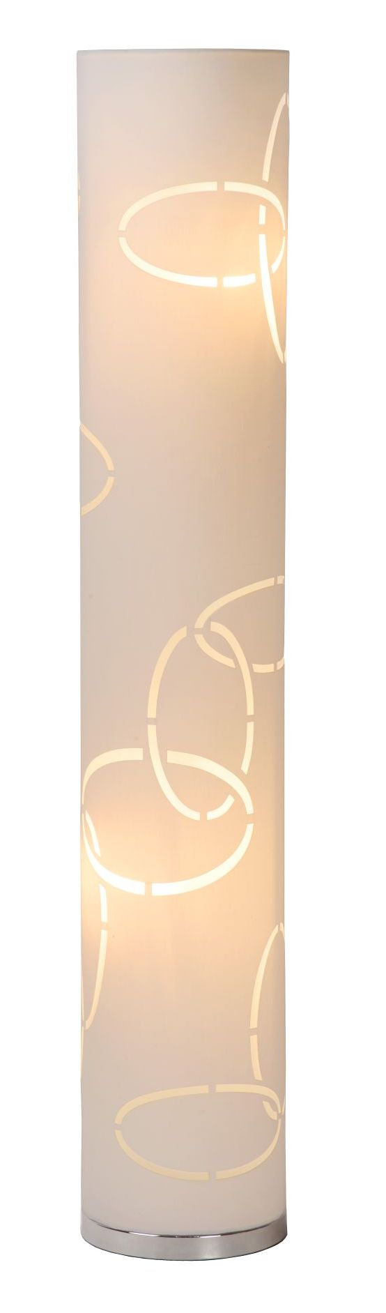 Standing lamp VERANO white fabric E14