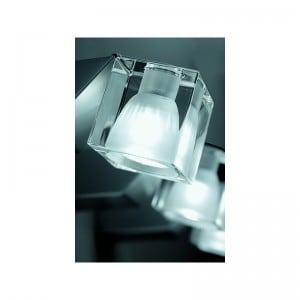 Wall lamp Fabbian Cubetto D28D0301 choice of colors of the lampshade small 2