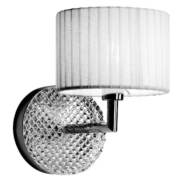 Wall lamp Fabbian Diamond Creme