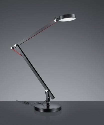 Modern practical desk lamp AMSTERDAM black