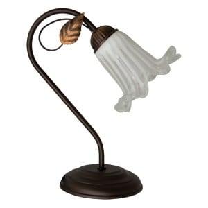 Lampa stołowa SETTI 40W E14 brąz