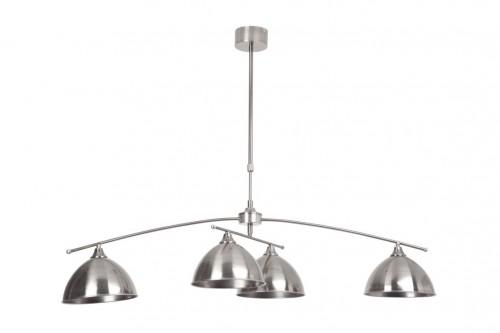 ENZIO Rotatable, silver pendant lamp