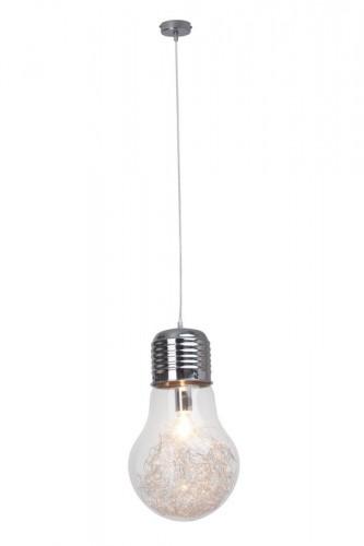 BULB Transparent hanging luminaire