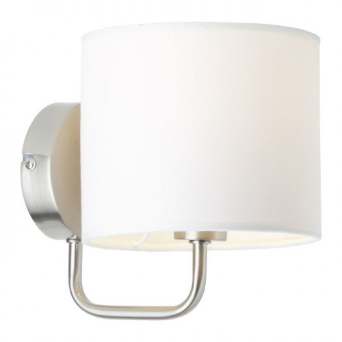 SANDRA Satin wall lamp