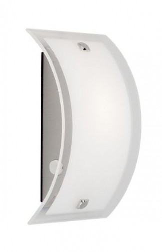 ELYSEE Satin chrome wall light (200 mm)