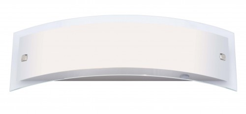 ELYSEE Satin chrome wall light (400 mm)